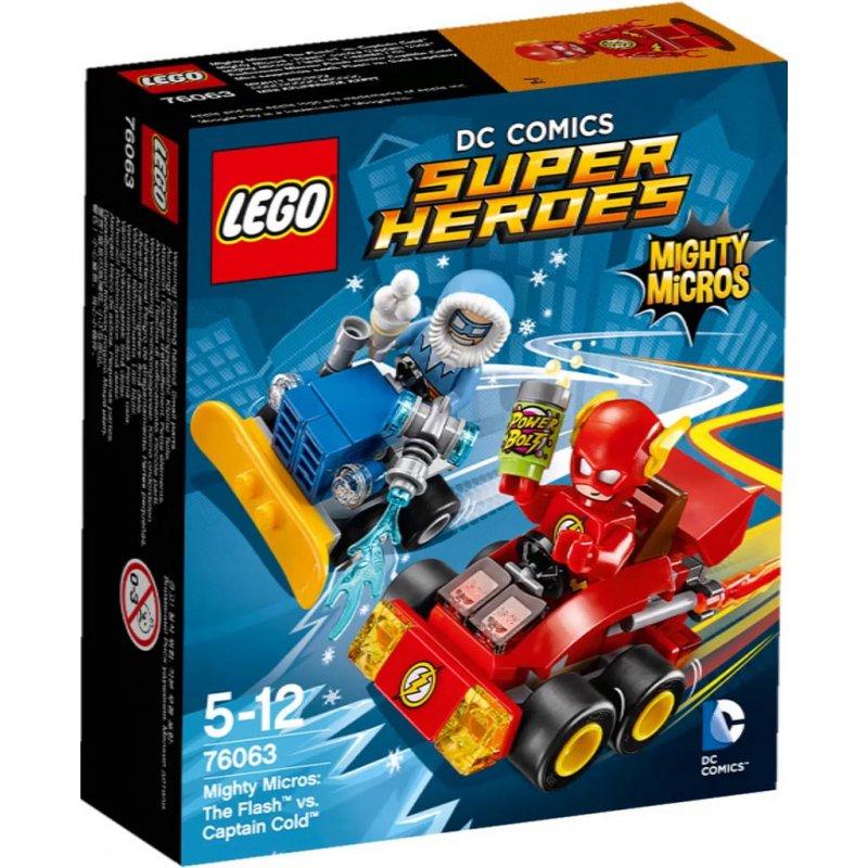 Lego 76063 The Flash vs. Captain Cold, LEGO® Sets Super ...