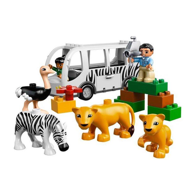 Lego 10502 Autobus w ZOO, LEGO® Sets DUPLO - MojeKlocki24