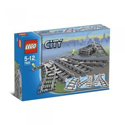LEGO 7895 Zwrotnica kolejowa
