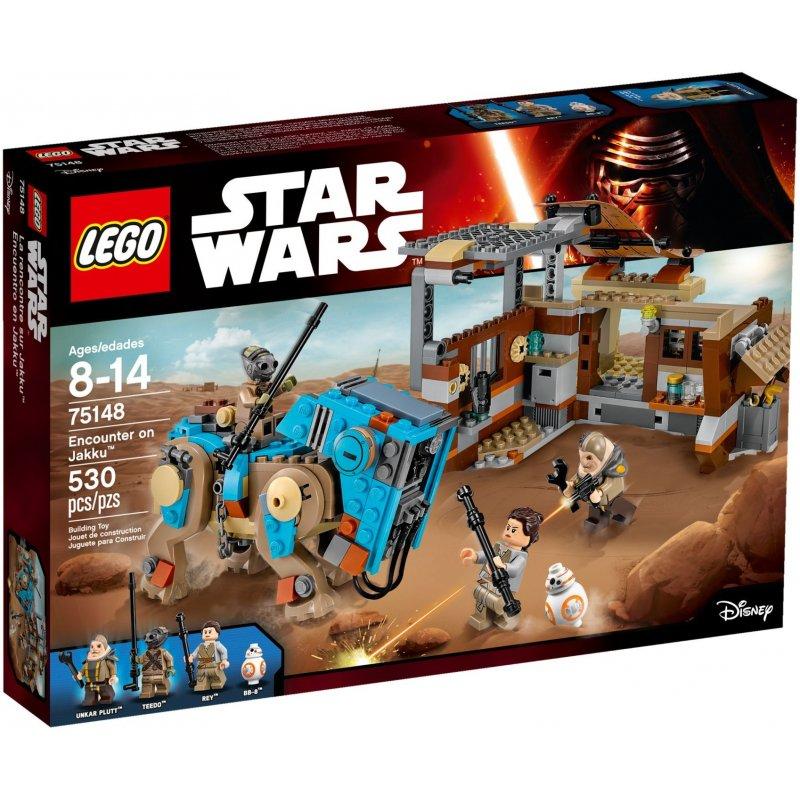 Lego 75148 Spotkanie Na Jakku Klocki Lego Star Wars Mojeklocki24