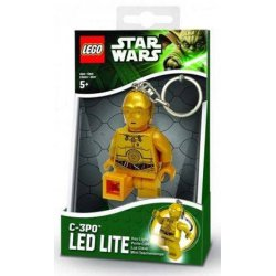 LEGO LGL-KE18 Brelok Star Wars C-3PO Latarka LED
