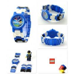 LEGO 8020028 Zegarek na rękę City policja + minifigurka