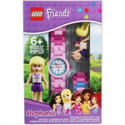 LEGO 8020172 Zegarek na rękę Friends Stephanie + minifigurka