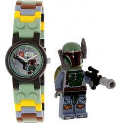 LEGO 8020363 Zegarek na rękę Star Wars Boba Fett + minifigurka