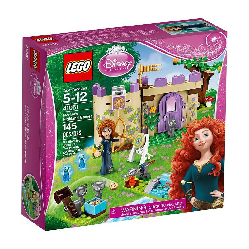 Lego 41051meridas Highland Games Lego Sets Disney Princess