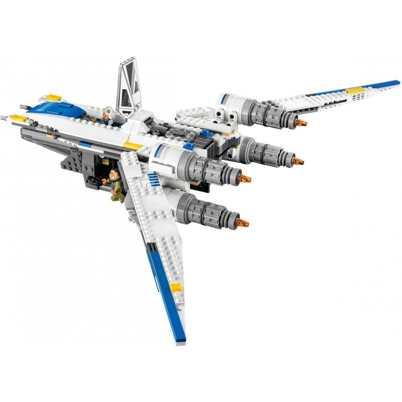 lego mini y wing instructions