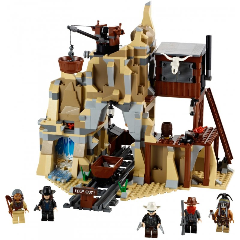 Lego 79110 Silver Mine Shootout Lego Sets The Lone Ranger
