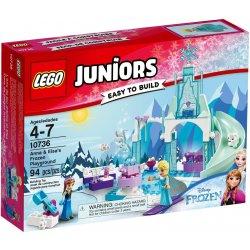 LEGO 10736 Plac zabaw Anny i Elsy z Krainy Lodu