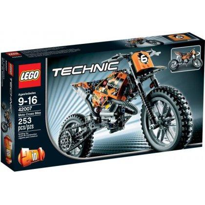 13 Lego 42007 Motor Crossowy