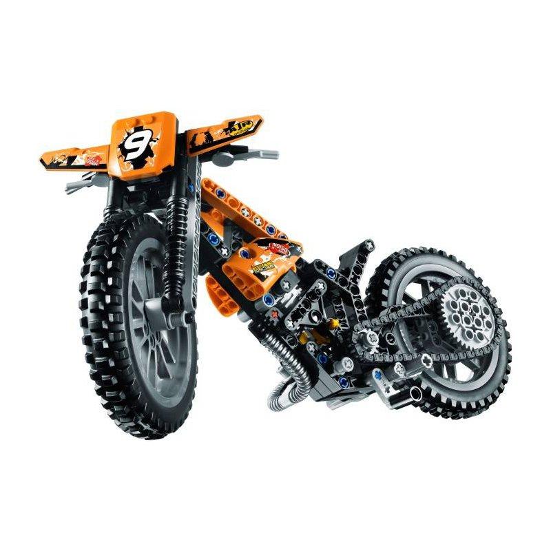 lego 42007 motor crossowy klocki lego technic mojeklocki24. Black Bedroom Furniture Sets. Home Design Ideas