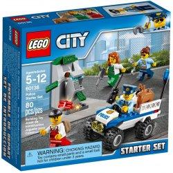 LEGO 60136 Policja - zestaw startowy