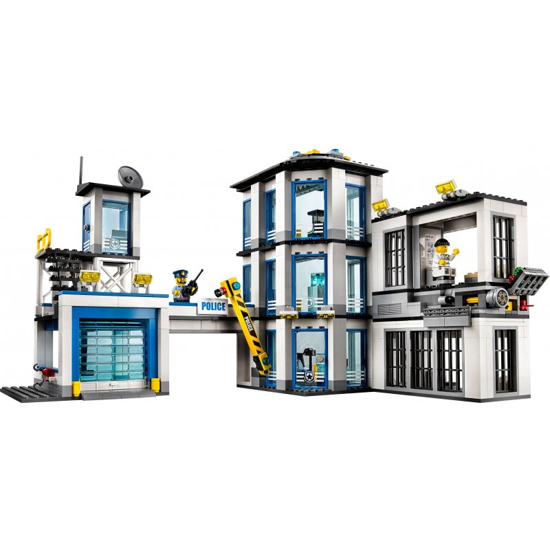 lego 60141 police station lego sets city mojeklocki24. Black Bedroom Furniture Sets. Home Design Ideas