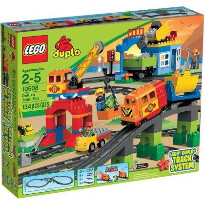LEGO DUPLO 10508 Pociąg - Zestaw Deluxe