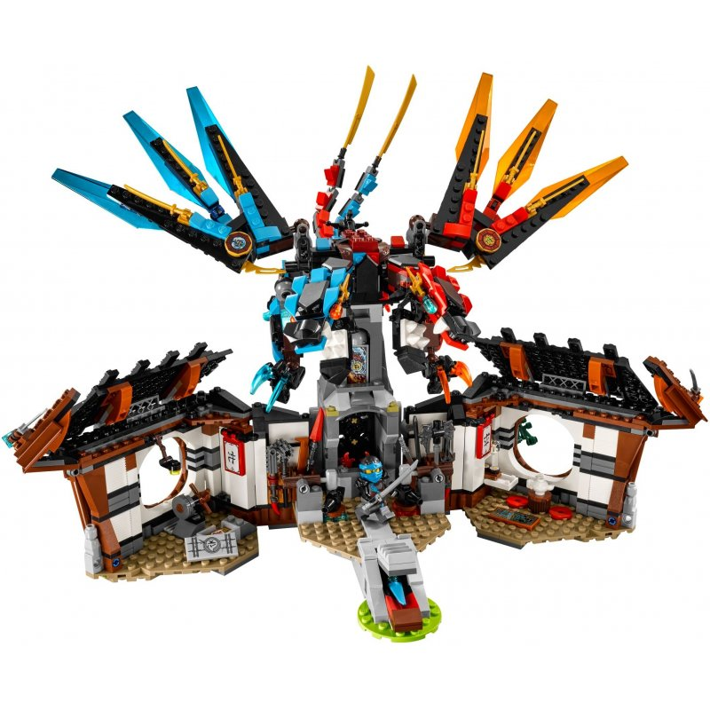 Lego Ninjago Kai Dragon Instructions