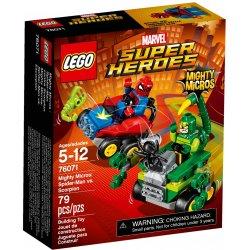 LEGO 76071 Spider-Man kontra Skorpion