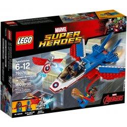 LEGO 76076 Odrzutowiec Kapitana Ameryki
