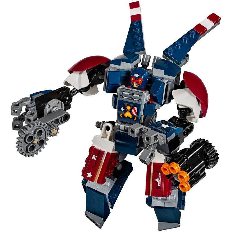 Lego 76077 Iron Man: Detroit Steel atakuje, Klocki LEGO ...