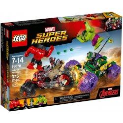 LEGO 76078 Hulk kontra Czerwony Hulk