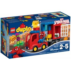 LEGO DUPLO 10608 Ciężarówka Spider - Mana