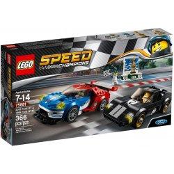 LEGO 75881 Ford GT z roku 2016 i Ford GT40 z roku 1966