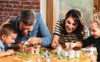 Rodzinna zabawa z Brick Trick od Trefla